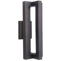 Craftmade Z1514-TB-LED Kai LED 18 inch Textured Matte Black Outdoor Wall Lantern, Medium