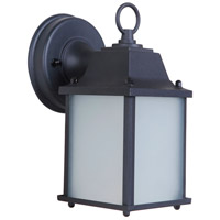 Craftmade Z192-TB-LED Coach Lights LED 9 inch Textured Matte Black Outdoor Wall Lantern