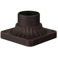 Craftmade Z200-RT Signature 4 inch Rust Outdoor Pier Base