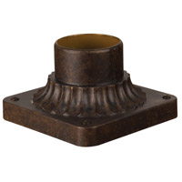 Exteriors by Craftmade Pier Base Pier Mount in Peruvian Bronze Z200-112