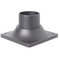 Craftmade Z202-TB Signature 3 inch Textured Matte Black Outdoor Pier Base
