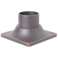 Signature 3 inch Rust Outdoor Pier Base