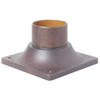 Craftmade Z202-PRO Signature 3 inch Peruvian Bronze Outdoor Pier Base