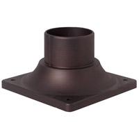 Craftmade Z202-ABZ Signature 3 inch Aged Bronze Brushed Outdoor Pier Base