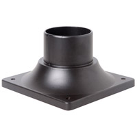 Craftmade Z202-OBO Craftmade 3 inch Brushed Aluminum Outdoor Post Head Adapter in Oiled Bronze