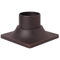 Craftmade Z202-RT Signature 3 inch Rust Outdoor Pier Base