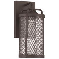Craftmade Z2204-MBKG Blacksmith 1 Light 13 inch Matte Black Gilded Outdoor Wall Lantern Small