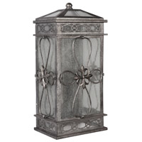 Exteriors by Craftmade Edinburgh 2 Light Outdoor Wall Mount Pocket Lantern in Dark Granite Z2322-18