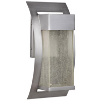 Craftmade Z2504-BT-LED Ontario LED 12 inch Brushed Titanium Outdoor Wall Lantern, Small