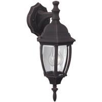 Craftmade Z264-RT Bent Glass 1 Light 16 inch Rust Outdoor Wall Lantern Small