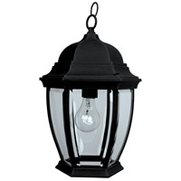 Craftmade Z281-TB Bent Glass 1 Light 10 inch Brushed Aluminum Outdoor Pendant in Textured Matte Black, Small