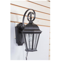 Craftmade Z2904-OBG Chadwick 1 Light 15 inch Oiled Bronze Gilded Outdoor Wall Lantern, Small