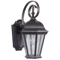 Oiled Bronze Glass Outdoor Wall Lights