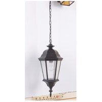 Chadwick 1 Light 9 inch Midnight Outdoor Pendant, Exteriors