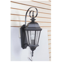 Craftmade Z2914-MN Chadwick 1 Light 24 inch Midnight Outdoor Wall Lantern, Medium