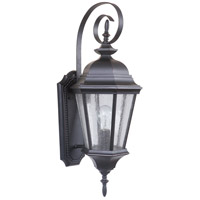 Craftmade Z2914-OBG Chadwick 1 Light 24 inch Oiled Bronze Gilded Outdoor Wall Lantern, Medium