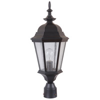 Craftmade Z2915-MN Chadwick 1 Light 22 inch Midnight Outdoor Post Light Medium