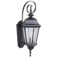 Craftmade Z2924-OBG Chadwick 3 Light 33 inch Oiled Bronze Gilded Outdoor Wall Lantern, Large