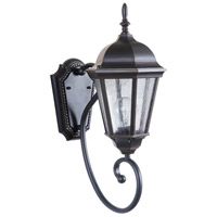 Craftmade Z2950-OBG Newberg 1 Light 18 inch Oiled Bronze Gilded Outdoor Wall Lantern, Small