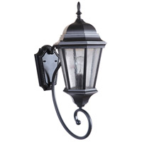 Craftmade Z2960-MN Newberg 1 Light 23 inch Midnight Outdoor Wall Lantern Medium