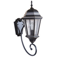 Craftmade Z2960-OBG Newberg 1 Light 23 inch Oiled Bronze Gilded Outdoor Wall Lantern, Medium