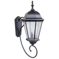 Craftmade Z2970-MN Newberg 3 Light 32 inch Midnight Outdoor Wall Lantern Large