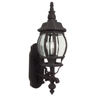 Craftmade Z320-RT French Style 1 Light 22 inch Rust Outdoor Wall Lantern, Small