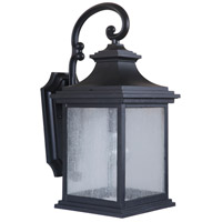 Gentry 1 Light 20 inch Midnight Outdoor Wall Mount, Exteriors