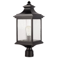Craftmade Z3215-MN Gentry 1 Light 20 inch Midnight Outdoor Post Light Medium