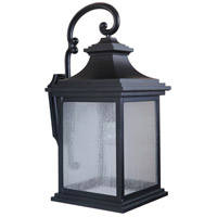 Craftmade Z3224-MN Gentry 1 Light 26 inch Midnight Outdoor Wall Lantern, Large photo thumbnail