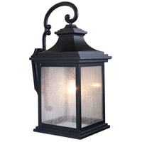 Craftmade Z3224-MN Gentry 1 Light 26 inch Midnight Outdoor Wall Lantern, Large alternative photo thumbnail