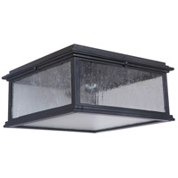 Craftmade Z3227-MN Gentry 1 Light 13 inch Midnight Outdoor Flushmount, Small