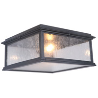 Craftmade Z3227-MN Gentry 1 Light 13 inch Midnight Outdoor Flushmount, Small alternative photo thumbnail
