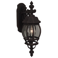 Exteriors by Craftmade French Style 1 Light Outdoor Wall Mount in Rust Z324-07