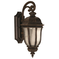 Harper 1 Light 18 inch Peruvian Bronze Outdoor Wall Mount in Medium
