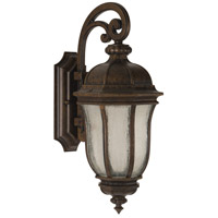 Exteriors by Craftmade Harper 1 Light Outdoor Wall Mount Lantern in Peruvian Bronze Z3314-112-LED
