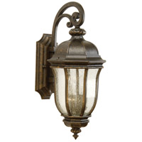 Harper 2 Light 21 inch Peruvian Bronze Outdoor Wall Lantern, Medium