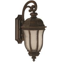 Harper 3 Light 28 Inch Peruvian Bronze Outdoor Wall Lantern Large