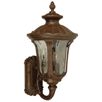 Exteriors by Craftmade Sheffield 2 Light Outdoor Wall Mount in Aged Bronze Z3520-98