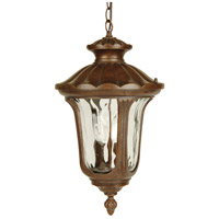 Exteriors by Craftmade Sheffield 2 Light Outdoor Pendant in Aged Bronze Z3521-98