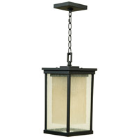 Craftmade Z3721-92-NRG Riviera ES 1 Light 8 inch Oiled Bronze Outdoor Pendant in GU24