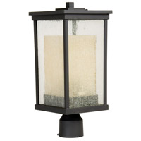 Exteriors by Craftmade Riviera 1 Light Post Mount in Oiled Bronze Z3725-92