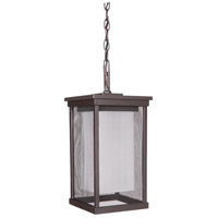 Exteriors by Craftmade Riviera II 1 Light Outdoor Pendant in Oiled Bronze Z3771-92