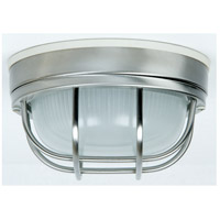 Craftmade Z394-SS Bulkheads 1 Light 8 inch Stainless Steel Outdoor Flushmount, Small photo thumbnail