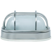 Exteriors by Craftmade Bulkhead 1 Light Outdoor Flushmount in Stainless Steel Z396-56
