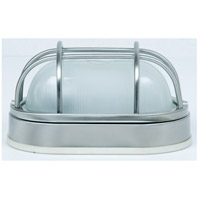 Craftmade Z396-SS Bulkheads 1 Light 5 inch Brushed Aluminum Outdoor Flushmount in Stainless Steel, Small photo thumbnail