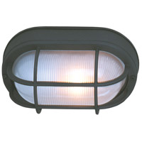 Craftmade Z397-TB Bulkheads 1 Light 11 inch Textured Matte Black Outdoor Flushmount Large