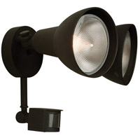 Craftmade Z402PM-TB Signature 120V 100 watt Textured Matte Black Outdoor Flood Light, Covered