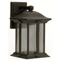 Summit 1 Light 13 inch Oiled Bronze Outdoor Wall Lantern, Small