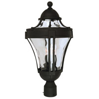 Craftmade Z4225-TB Parish 3 Light 23 inch Textured Matte Black Outdoor Post Light Large